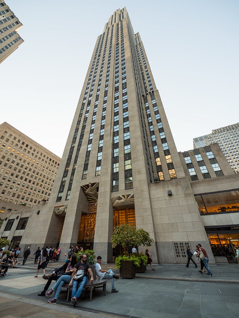 "Comcast Building 30 Rockefeller Plaza (""30 Rock"")"