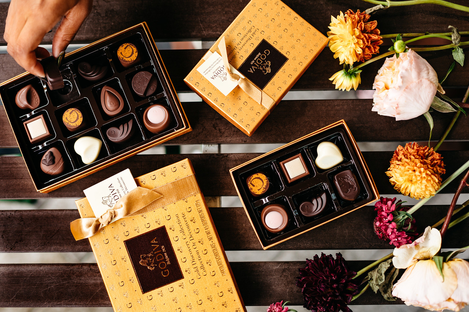 Godiva's Gold Discovery Collection, candace hampton
