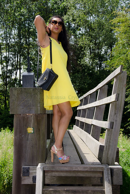 When I think of summer, I think of yellow