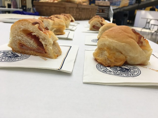 Pepperoni Roll Day at Mountaineer Week