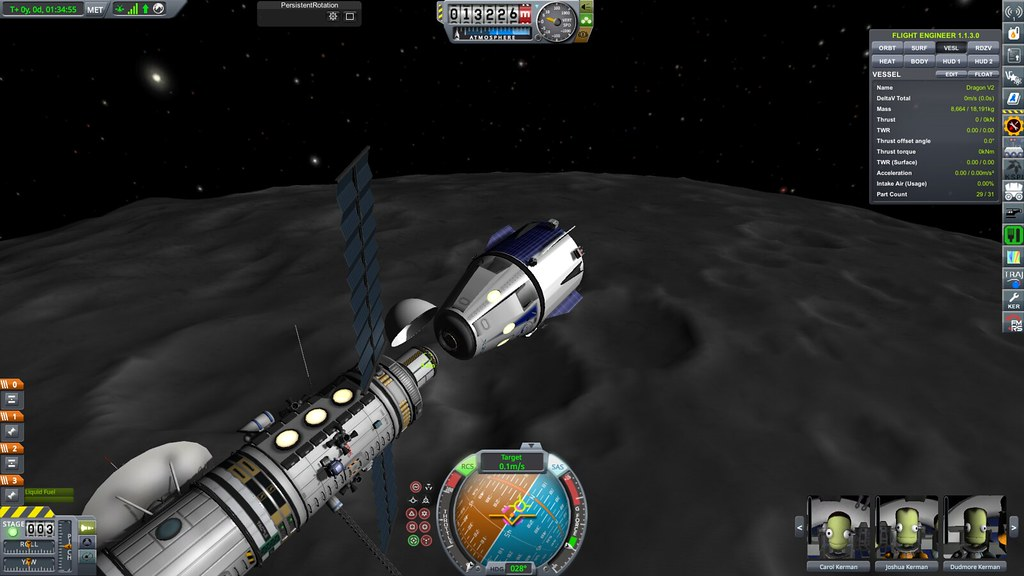 Dragon V2 docking