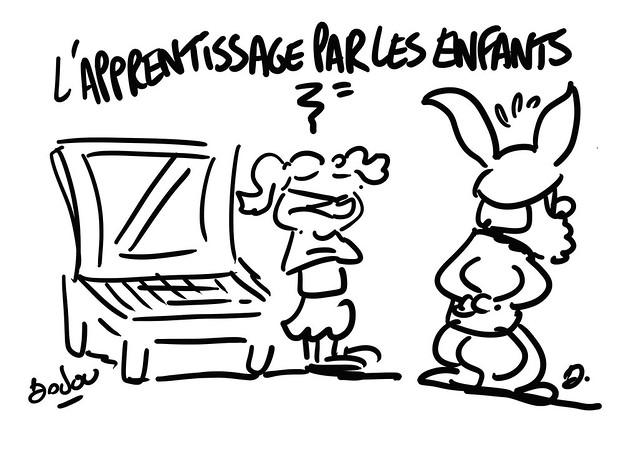 Atelier Ecrans et famille : parlons-en ! - Les dessins de Dadou