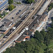 Colchester North Station - Essex aerial