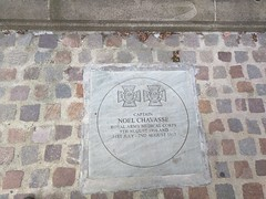 Photo of Christopher Chavasse and Noel Chavasse brushed metal plaque