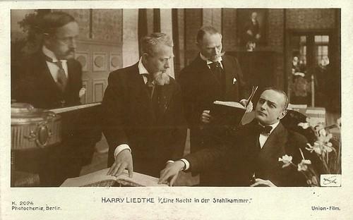 Harry Liedtke in Eine Nacht in der Stahlkammer