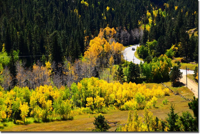 Peak to Peak Scenic Byway in Fall, Colorado (10)
