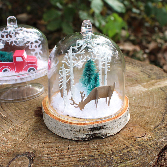 Mini Deer Cloche 2