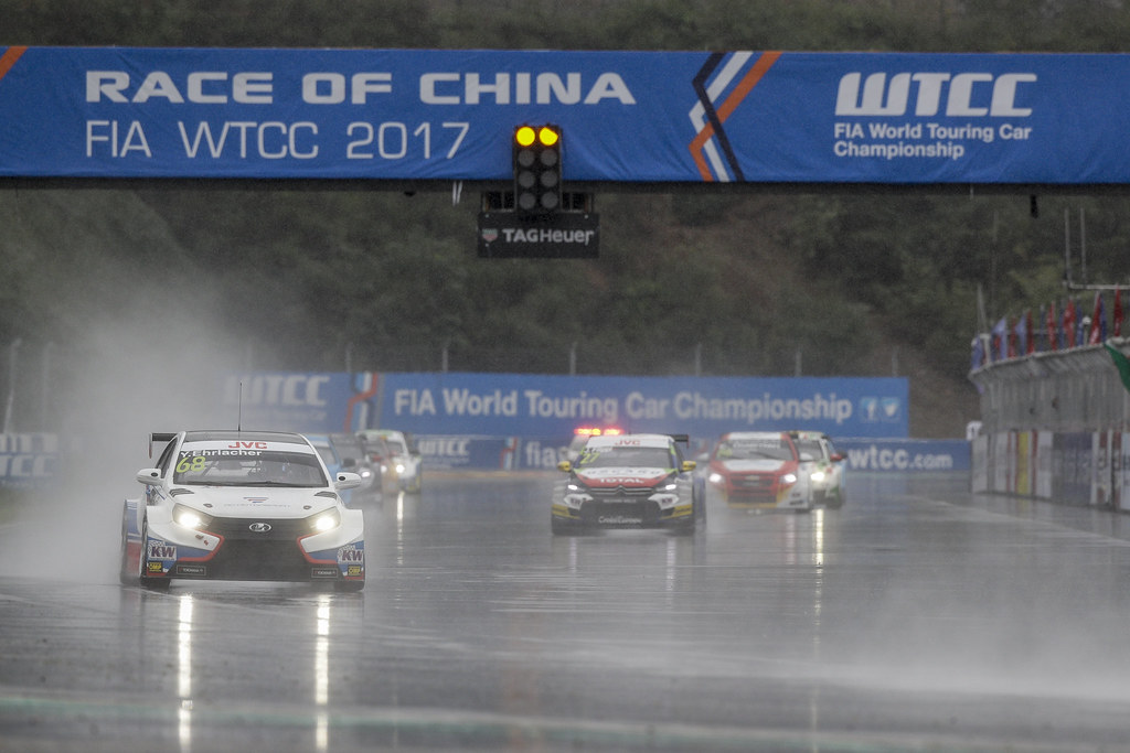 68 EHRLACHER Yann (fra) Lada Vesta team RC Motorsport action  during the 2017 FIA WTCC World Touring Car Championship at Ningbo, China, October 13 to 15 - Photo Frederic Le Floc'h / DPPI
