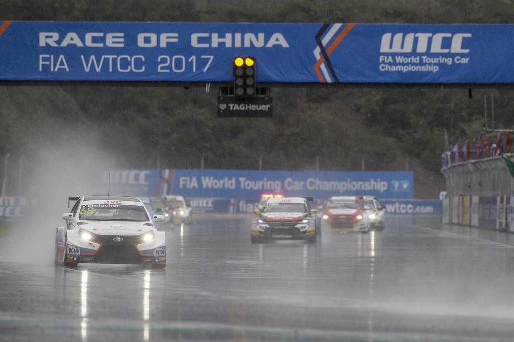 68 EHRLACHER Yann (fra) Lada Vesta team RC Motorsport action  during the 2017 FIA WTCC World Touring Car Championship at Shanghai, China, ningbo,13 to 15 - Photo Frederic Le Floc'h / DPPI