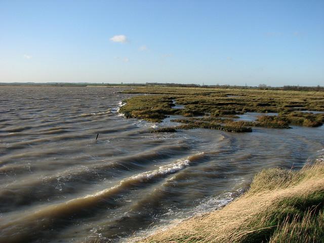 The River Roach near Great Stambridge