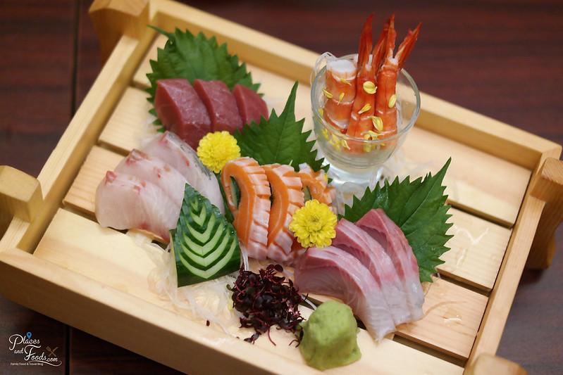 makoto sashimi platter