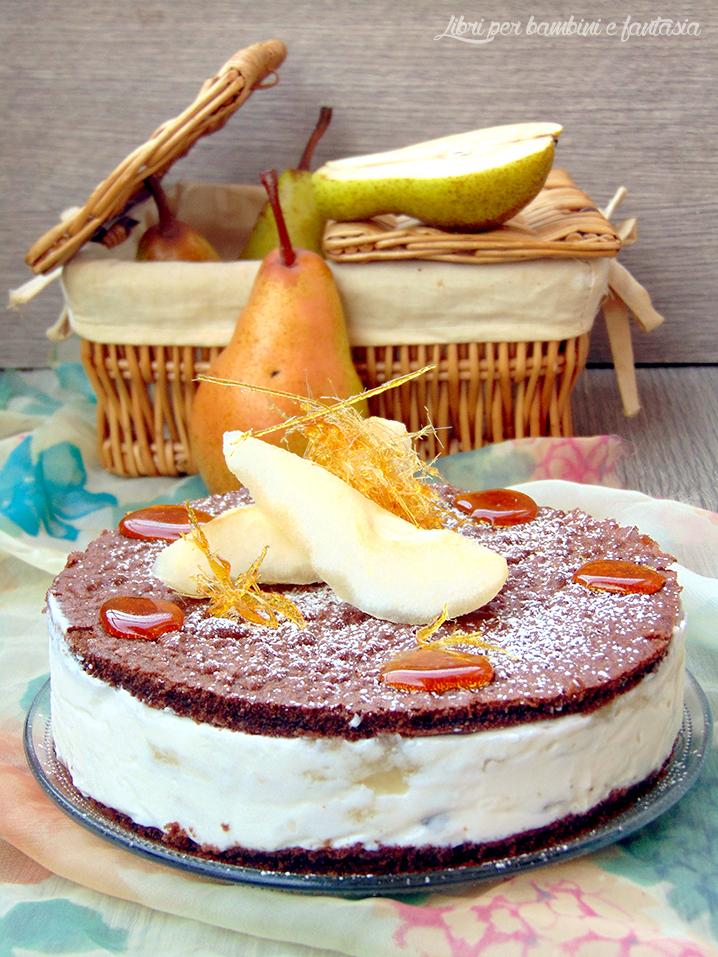 torta ricotta e pere 2 bis