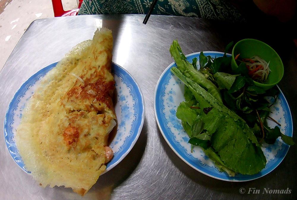 banh xeo Vietnamese omelette