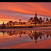 Epic sunset at the Hotel del Coronado!