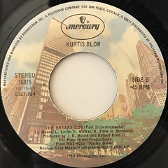 KURTIS BLOW:THE BREAKS(LABEL SIDE-B)
