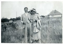 Scanned Vintage Photo - Jim & Elsie