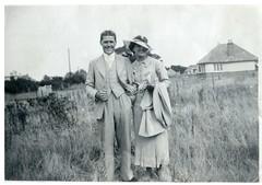 Scanned Vintage Photo - Jim & Elsie