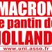 Small photo of Macron le pantin de Hollande