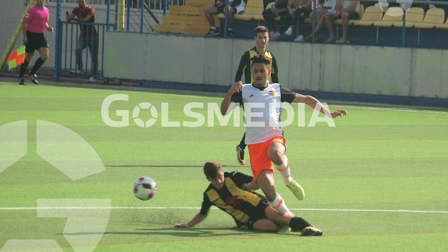 DH Juvenil. CD Roda 3-1 Valencia CF (12/10/2017), Jorge Sastriques