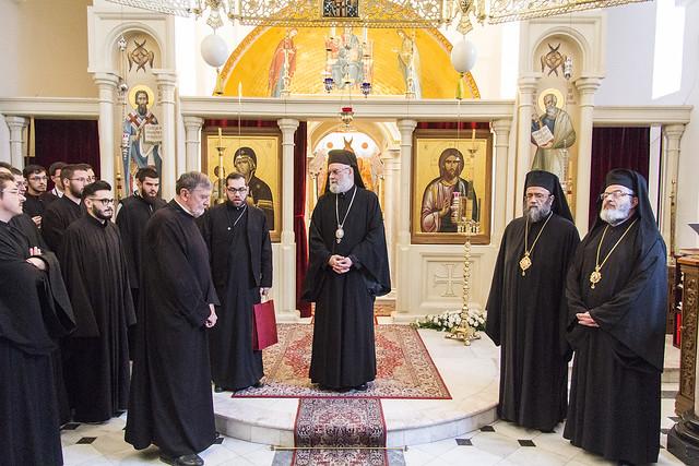 Посета антиохијских епископа, 10. 10. 2017.