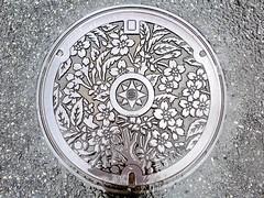 Yokosuka Kanagawa, manhole cover (神奈川県横須賀市のマンホール)
