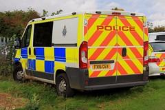 Lincolnshire Police Peugeot Boxer Station Van