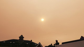 Red Sun in Dorking