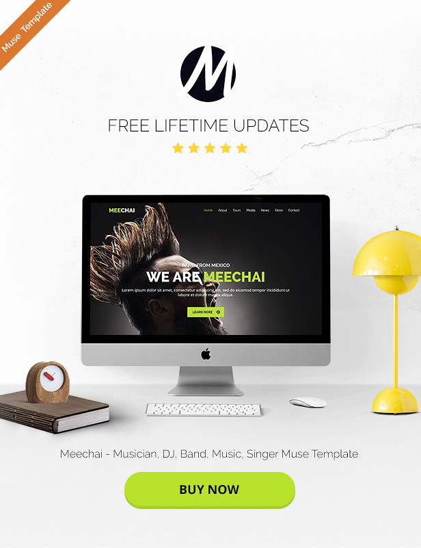 Mellie - Music Muse Template - 6