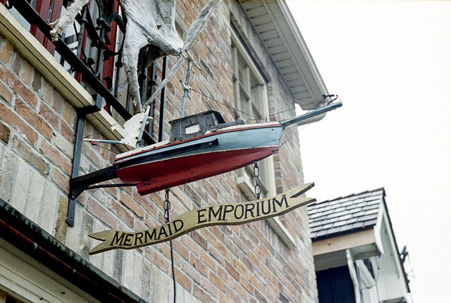 Mermaid Emporium Boat