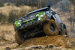 Off-road vehicle brand Nissan  overcomes the track