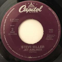STEVE MILLER:TAKE THE MONEY AND RUN(LABEL SIDE-B)