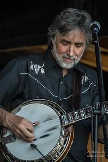 Colebrook Road's Mark Rast on banjo.