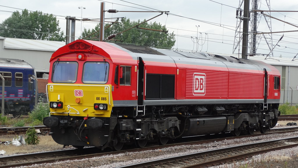 DB Cargo Class 66085 Doncaster