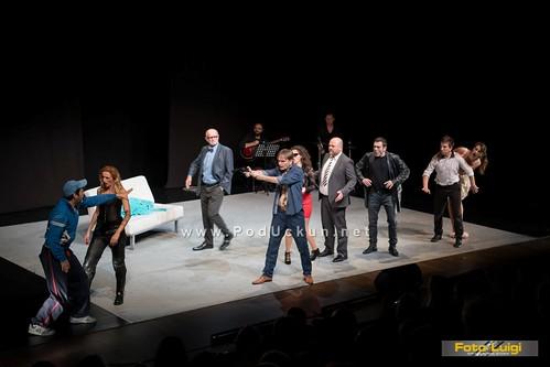 Gledatelje obradovala 'fiktivna' Opatija u Kerempuhovoj predstavi 'Jedan sluga, dva gospodara'