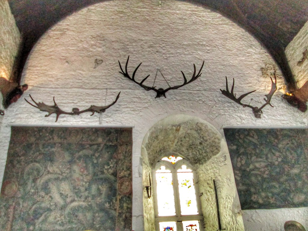 Bunratty Castle Antler Main Hall