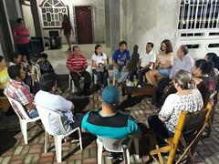 Alcalde de Chone mantuvo reunión de trabajo con habitantes de Cdla. Universitaria