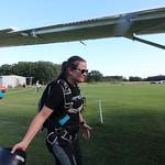Allison Reay Member of The Denver Broncos Thunderstorm Skydive Team