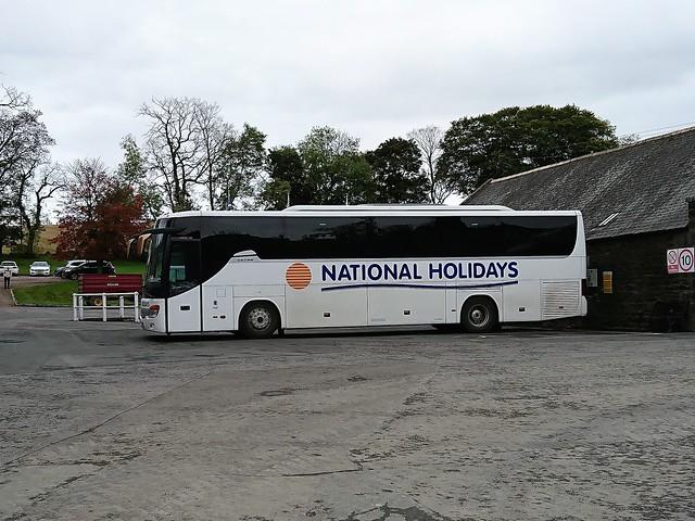 National bus - Glendronach Distillery