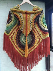 💫❤❤ love this poncho crochet pattern very beautiful and delicate to see step by step good night