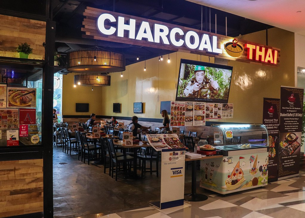Charcoal Thai Front