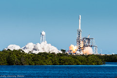 Launch! SpaceX Falcon 9 on 10-30-2017
