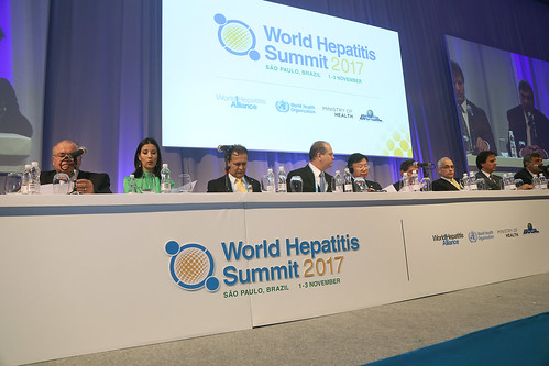 cerimônia de abertura da Cúpula Mundial de Hepatites (Word Hepatitis Summit 2017) São Paulo, 01/11/2017