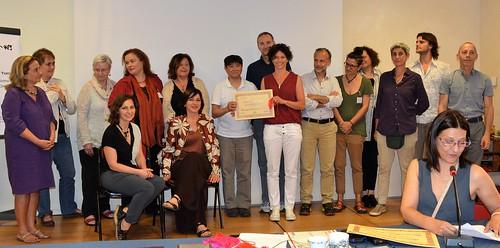 consegna diploma tuina Cistina Aniello 27 maggio 2017