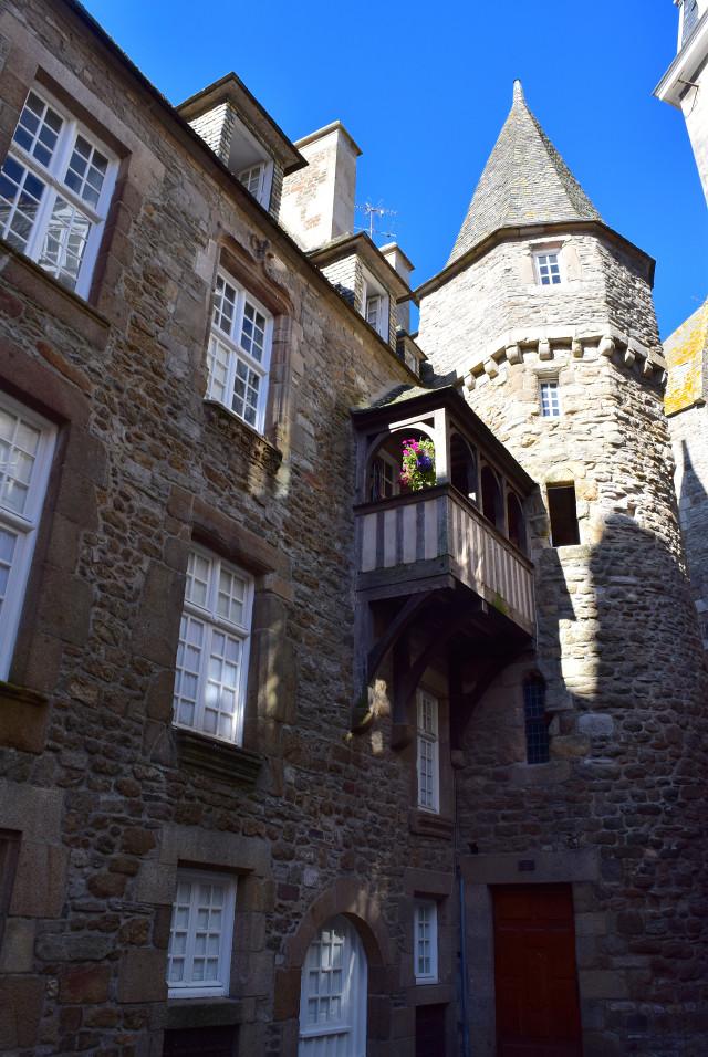 House of Duchess Anne, St. Malo | www.rachelphipps.com @rachelphipps