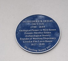 Photo of Frederick Dixon blue plaque