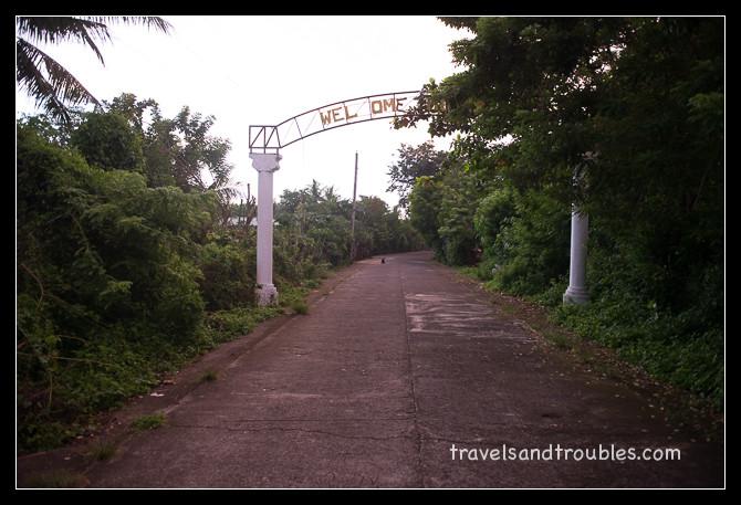 De weg naar San Antoinio