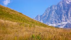 Zbocza Ailama z przełęczy Zagaro  2623m