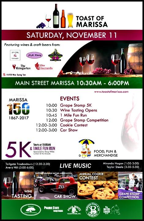 Toast Of Marissa 11-11-17