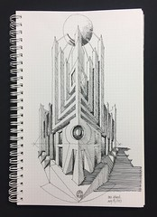 Machine Age Building - vertical corner