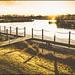 Sunset at Mercia Marina